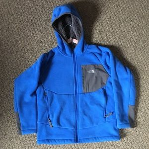 The North Face Chimborazo hooded fleece boys M